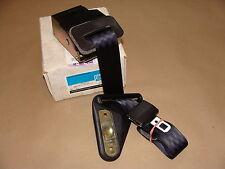 NOS GM 88-92 Camaro Firebird Black LH Rear Retractor Seat Belt Assembly