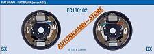 FC180102 KIT GANASCE FRENO COMPLETO FIAT BRAVO BRAVA 1.2/1.4BENZ 1.9D SENZA ABS