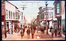 NOME Alaska ~ 1909 FRONT STREET ~ DOWNTOWN ~ DRUG Store ~ Busy Day !