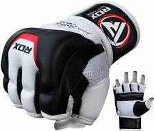 RDX MMA Gloves Grappling Fighting Muay Thai Training Martial Arts Sparring