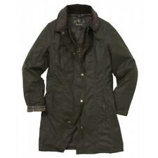 Barbour Belsey Wax Cotton Jacket in Olive