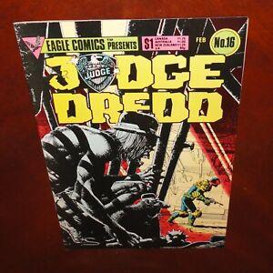 Judge Dredd #16 Eagle Comics Brian Bolland 1985 VF
