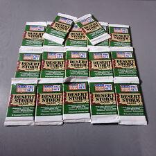 1991 Pro Set Desert Storm US Military Trading Cards 17 Unopened Packs.