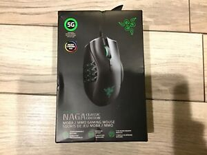New Razer Naga Classic Edition RGB Multi-Color Wired MMO Gaming Mouse Sealed
