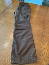 New listing REI Women's Convertible Brown Zip Off Hiking Pants/Shorts Size 6