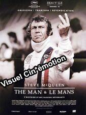 Affiche 120x160cm THE MAN ET LE MANS 1971 Steve Mcqueen, Chad Mcqueen 2015 NEUVE
