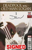 Deadpool Vs Old Man Logan #1 E Shalvey Signed Variant VF+/NM+