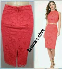 NWT bebe Lace Pencil Skirt SIZE M Beyond Gorgeous skirt!! $102.00