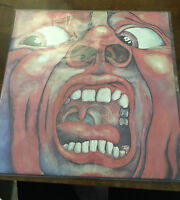 KING CRIMSON, IN THE COURT OF THE CRIMSON KING USA VINYL LP AUDIOPHILE