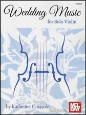 Wedding Music for Solo Violin Sheet Music Book