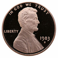 1983-S Lincoln Memorial Cent Penny Gem Proof US Mint Coin Uncirculated UNC