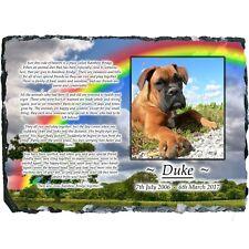 Pet Dog Photo Memorial Rainbow Bridge