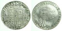 pci0275) Napoli regno Ferdinando IV grana 120 piastra 1796
