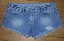 LE TEMPS DES CERISES Short en Jeans Femme W 31  Taille Fr 40 (Réf # S022)