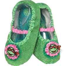 Girls TMNT Ballet Slipper Shoes Dress Up Ballerina Teenage Ninja Turtles NEW