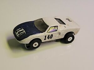 Auto world kid painted tjet slot car Ford gt40