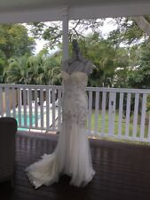Jenny Packham Eloise size 12 UK -  pre loved altered wedding dress