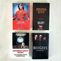 BEE GEES - Saturday Night Fever + ANDY GIBB - Cassette Set - Lot of 4