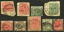 TRANSVAAL: (14071) used CGH interprovincial postmarks/cancels