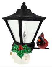 "6"" LANTERN with CARDINAL & HOLLY NIGHTLIGHT Midwest CBK NEW CHRISTMAS 140854"
