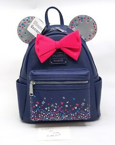 Loungefly Mini Backpack - HONG KONG DISNEYLAND 15TH ANNIVERSARY EXCLUSIVE BNWT