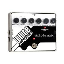 Electro-Harmonix White Finger Analog Optical Compressor Guitar Effects Pedal