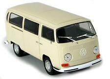 WELLY 1/24 VOLKSWAGEN MODELLAUTO VW BUS T2 BEIGE NEU