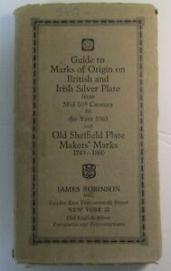 British & Irish Silver Assay Office Marks 1544-1963 Book by Fred Bradbury 11 Ed