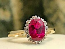 BRAND-NEW 10K GOLD AND 1.69 CARAT RUBY & SAPPHIRE RING 2.19 GRAMS + RING BOX