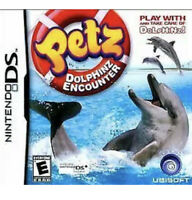 Petz Dolphinz Encounter Nintendo DS/3DS Kids Girl Game Pets Dolphins