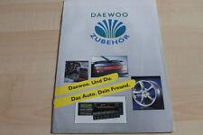 118369) Daewoo Espero - Nexia - Zubehör - Prospekt 06/1995