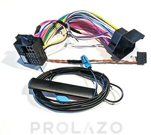 Cable and antenna set for BMW NBT to EVO retrofit upgrade OABR plug and play