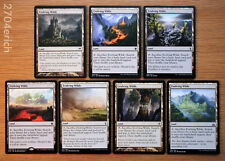 Lot of 7 Different Art Evolving Wilds 7x *Unplayed Fetch Lands NM* (English MTG)