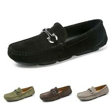 Men Driving Moccasins Flats Breathable Soft Ultralight Slip on Loafers Shoes New