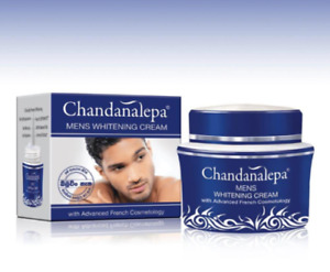 Chandanalepa Men's Whitening Herbal Cream with Advanced French Cosmetology -20g