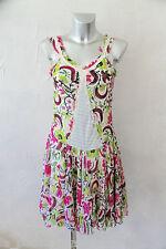 adorable robe à fleurs doublée en voile DESIGUAL taille 38 EXCELLENT ÉTAT