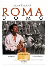 1995 / Parfum Laura Biagiotti / ROMA / UOMO / publicity / advertising