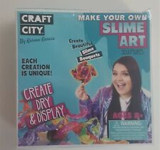 Craft City Make Your Own Slime Art Sculptures
