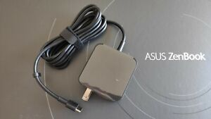 ASUS 65W USB-C Type-C Power Adapter Wall Charger Quick Charge 3.1 Type C laptops