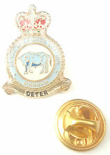 RAF Marham Crest Enamel Lapel Pin Badge