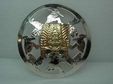 Hawaiian Pendant with 18k Gold