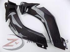 2011-2015 ZX-10R ZX10R Upper Front Dash Handle Bar Panels 100% Carbon Fiber