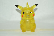 VERY RARE TOY MEXICAN FIGURE POKEMON pikachu FIGURE WITH LIGHT 4.5IN