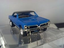 67 GTO Pontiac Blue/Black MoDEL MoToRING HO scale slot car T-jet Custome Wheels