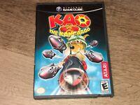 Kao The Kangaroo Round 2 Nintendo Gamecube Complete CIB Authentic