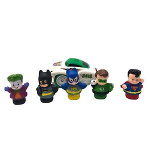 Lot Of Batman Shake 'N Go Joker Car DC Comics & Fisher Price Little People