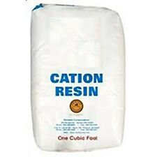 Water Softener Replacement Resin - High Purity Premium Cation CT100E -1 Cubic Ft