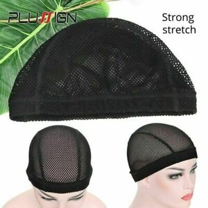 Wig Cap Weave For Making Wigs Mesh Dome Caps Spandex Breathable Durable Big Hole