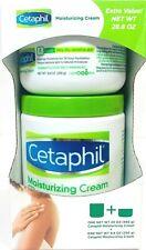 Cetaphil Moisturizing Cream 2 pack Fragrance Free Non-Greasy 20 oz & 8.8 oz New