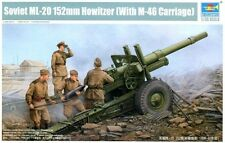 1/35 Soviet ML-20 152mm Howitzer (with M-46 Carriage) Trumpeter MODEL KIT 02324
